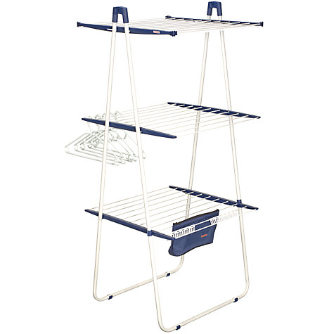Buy Leifheit Pegasus Tower 200 Clothes Airer Online at johnlewis.com