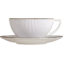 Buy Jasper Conran for Wedgwood Pinstripe Tea Cup Online at johnlewis.com