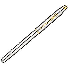 Buy Cross Classic Century Rollerball Pen, Medalist Chrome/Gold Online at johnlewis.com