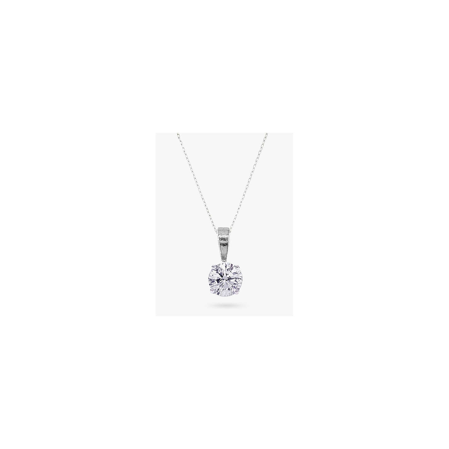 diamond gold two stone tw necklace white in