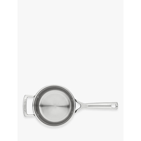 Buy Le Creuset 3-Ply Stainless Steel Lidded Saucepans Online at johnlewis.com