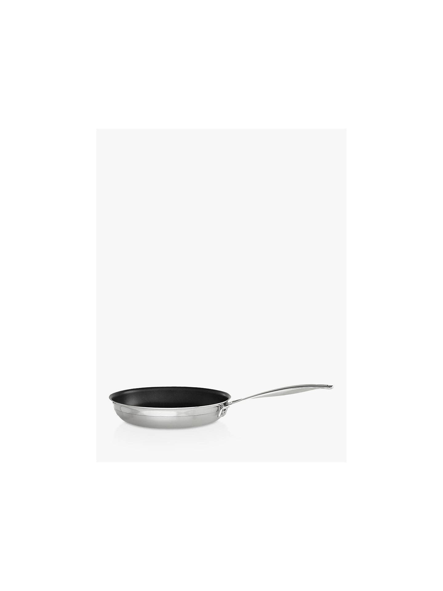 BuyLe Creuset 3-Ply Stainless Steel 24cm Non-Stick Frying Pan Online at johnlewis.com