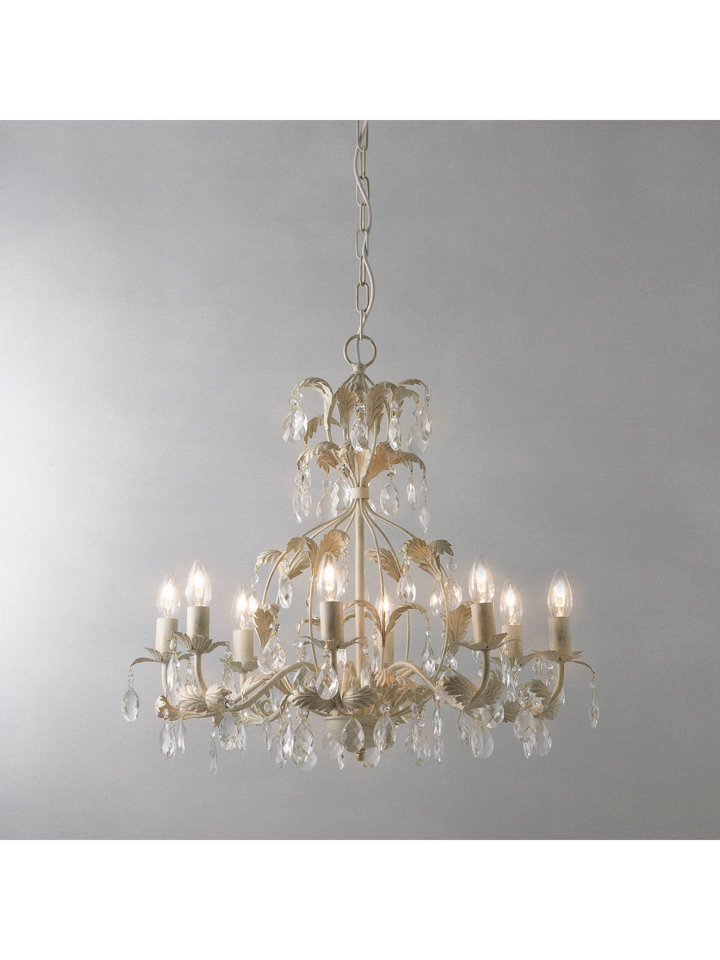 John lewis annabella chandelier 8 arm at john lewis partners buyjohn lewis annabella chandelier 8 arm online at johnlewis aloadofball Image collections