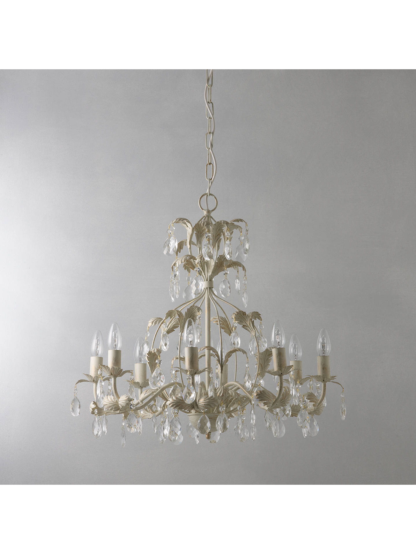Buy John Lewis & Partners Annabella Chandelier, 8 Arm Online at johnlewis.com