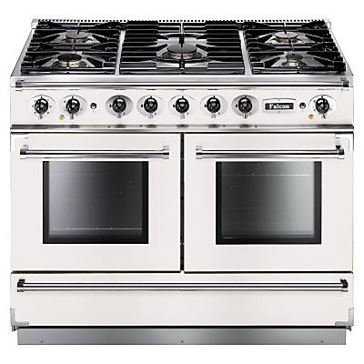 Image of Falcon Continental 1092 DFWH/NM Dual Fuel Range Cooker, White