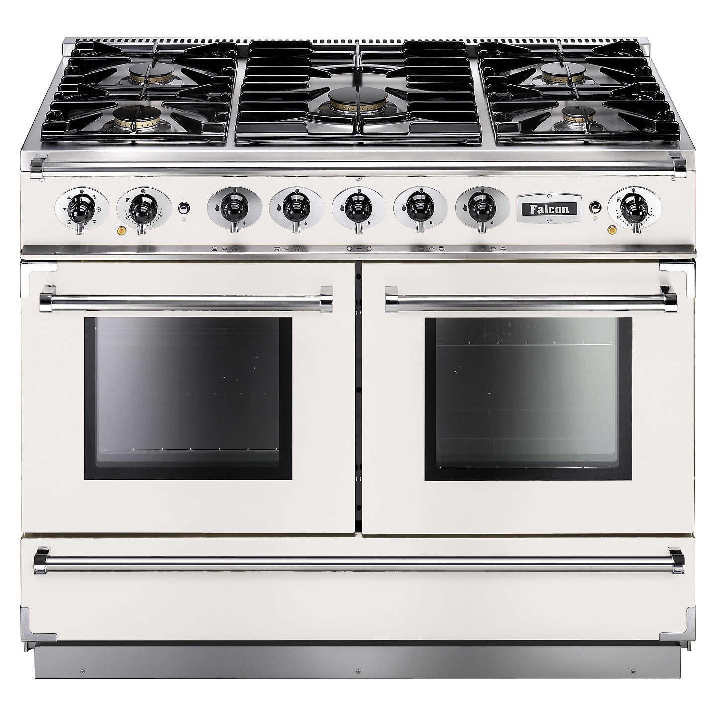 Falcon Continental 1092 DFWH/NM Dual Fuel Range Cooker, White at ...