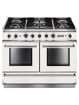 Falcon Continental 1092 DFWH/NM Dual Fuel Range Cooker, White