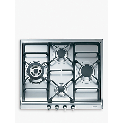 Image of Smeg SER60SGH3 Gas Hob, Stainless Steel