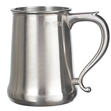 Buy John Lewis Pewter Tankard, 1 pint Online at johnlewis.com