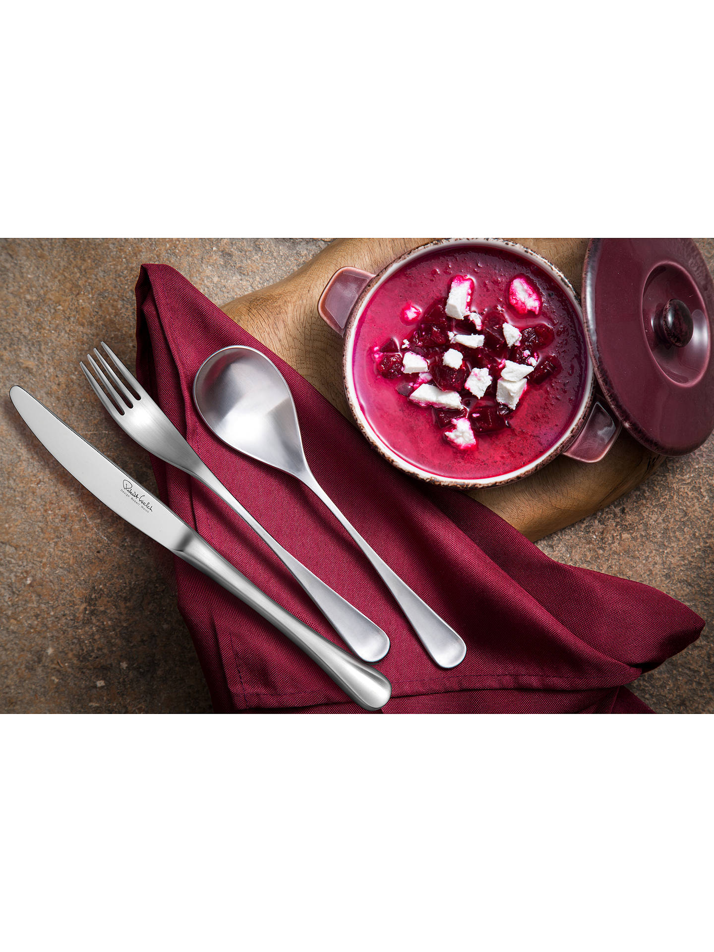 Buy Robert Welch RW2 Satin Table Knife Online at johnlewis.com