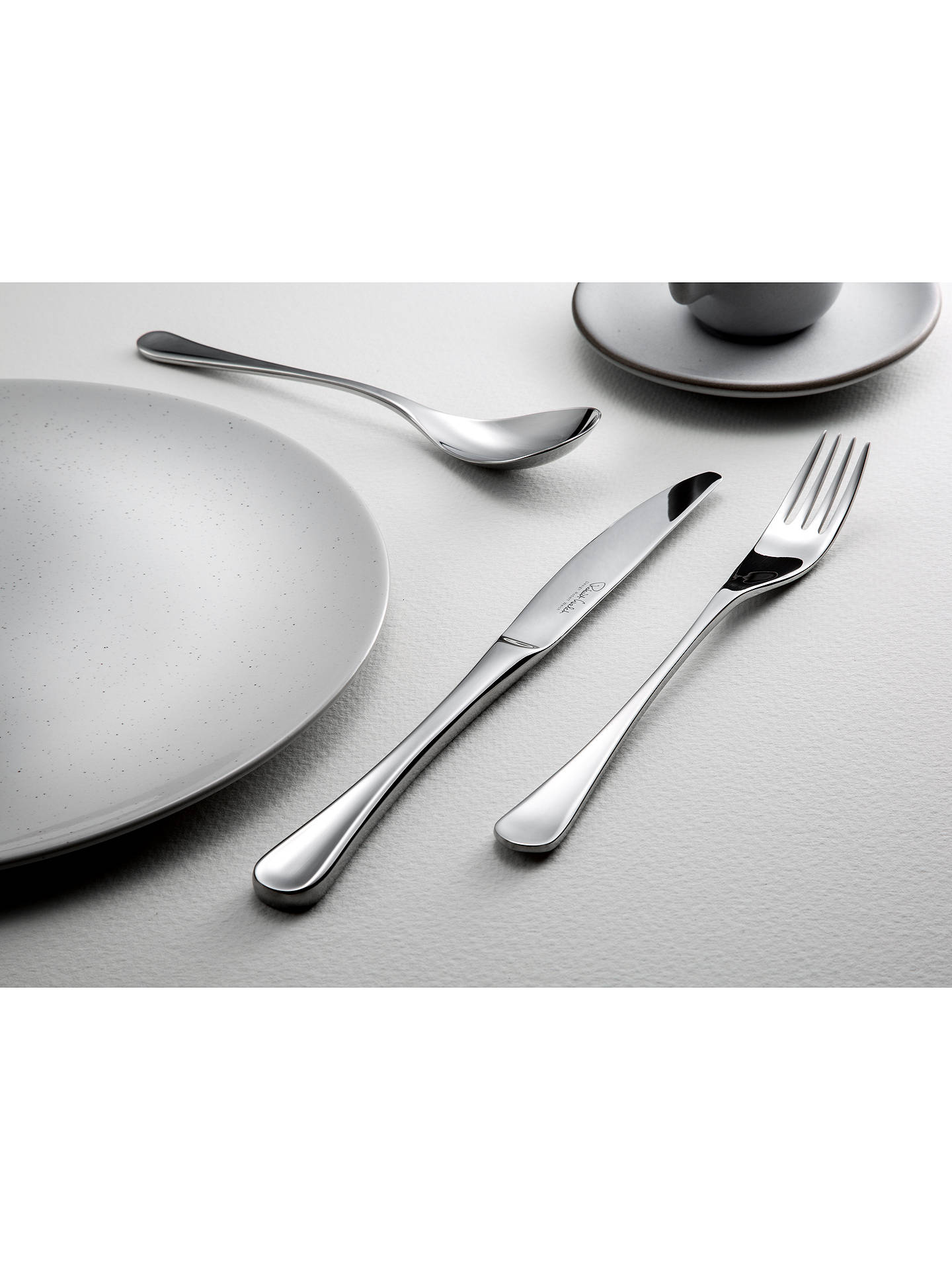 Buy Robert Welch RW2 Satin Soup Spoon Online at johnlewis.com