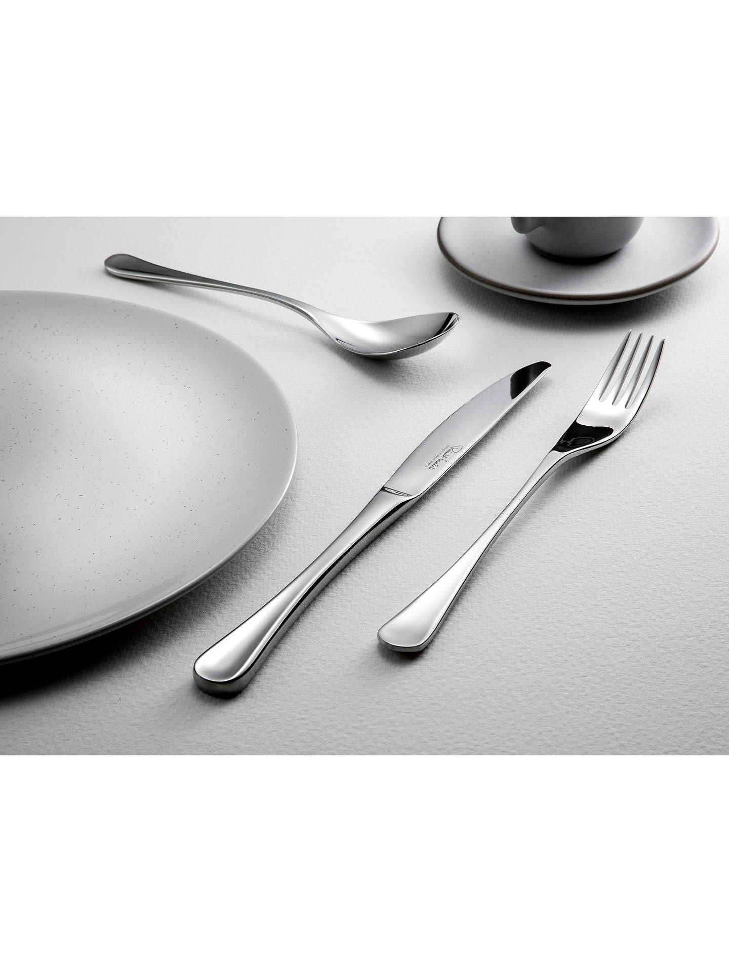 BuyRobert Welch RW2 Satin Teaspoon Online at johnlewis.com
