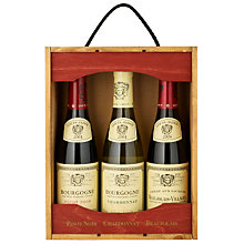Buy Louis Jadot Trio Wine Set, 3 x 37.5cl Online at johnlewis.com