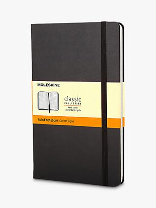 Moleskine Pocket Sized Hard Cover Ruled Notebook
