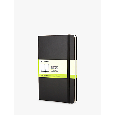 Product photo of Moleskine plain notebook