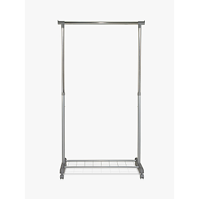 John Lewis Single Clothes Rail, H170cm