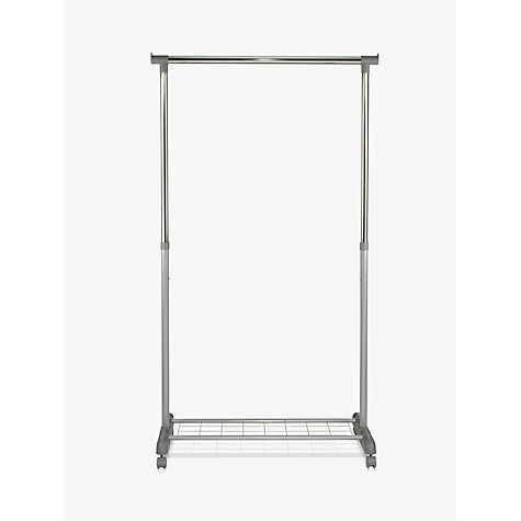 Buy John Lewis Single Clothes Rail, H170cm Online at johnlewis.com