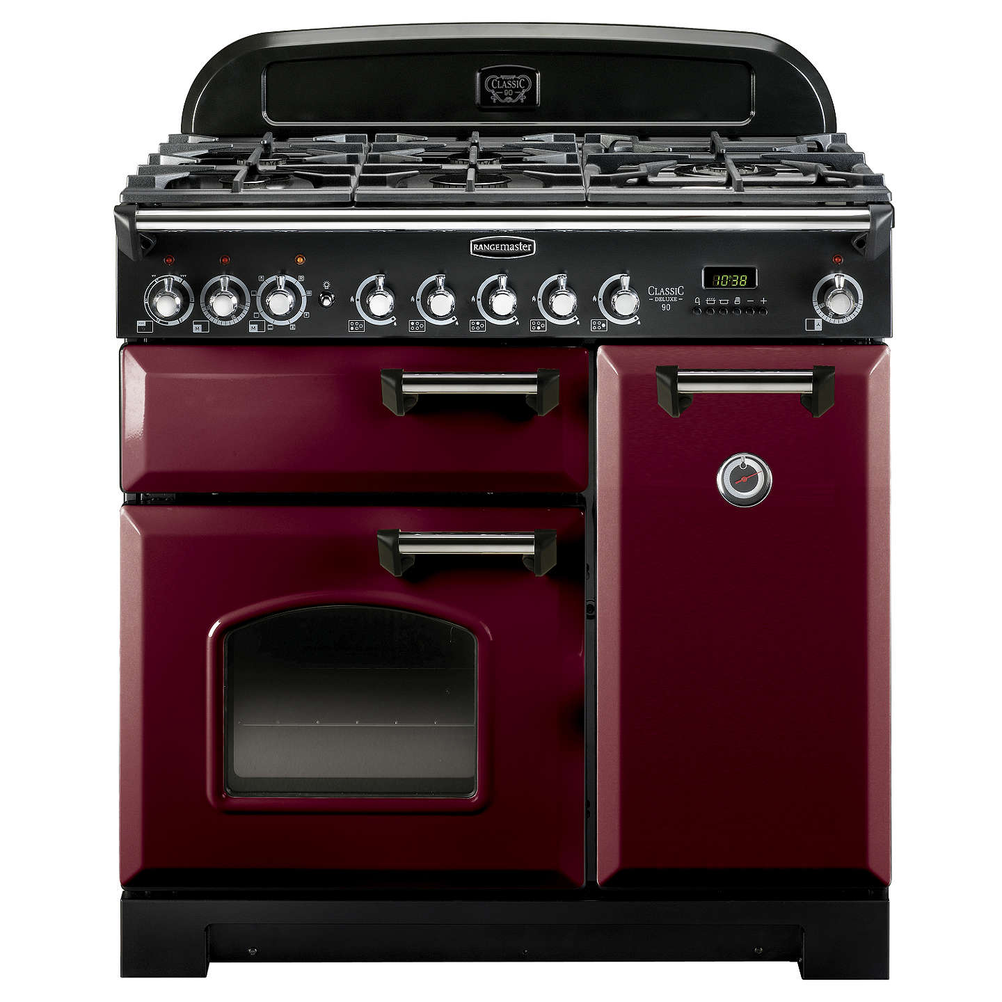 rangemaster classic deluxe 90 dual fuel range cooker at. Black Bedroom Furniture Sets. Home Design Ideas