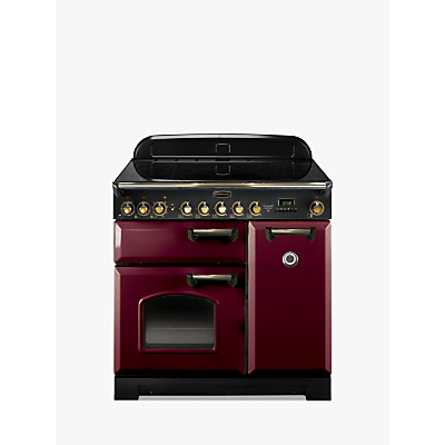 rangemaster classic deluxe 90 electric range cooker. Black Bedroom Furniture Sets. Home Design Ideas