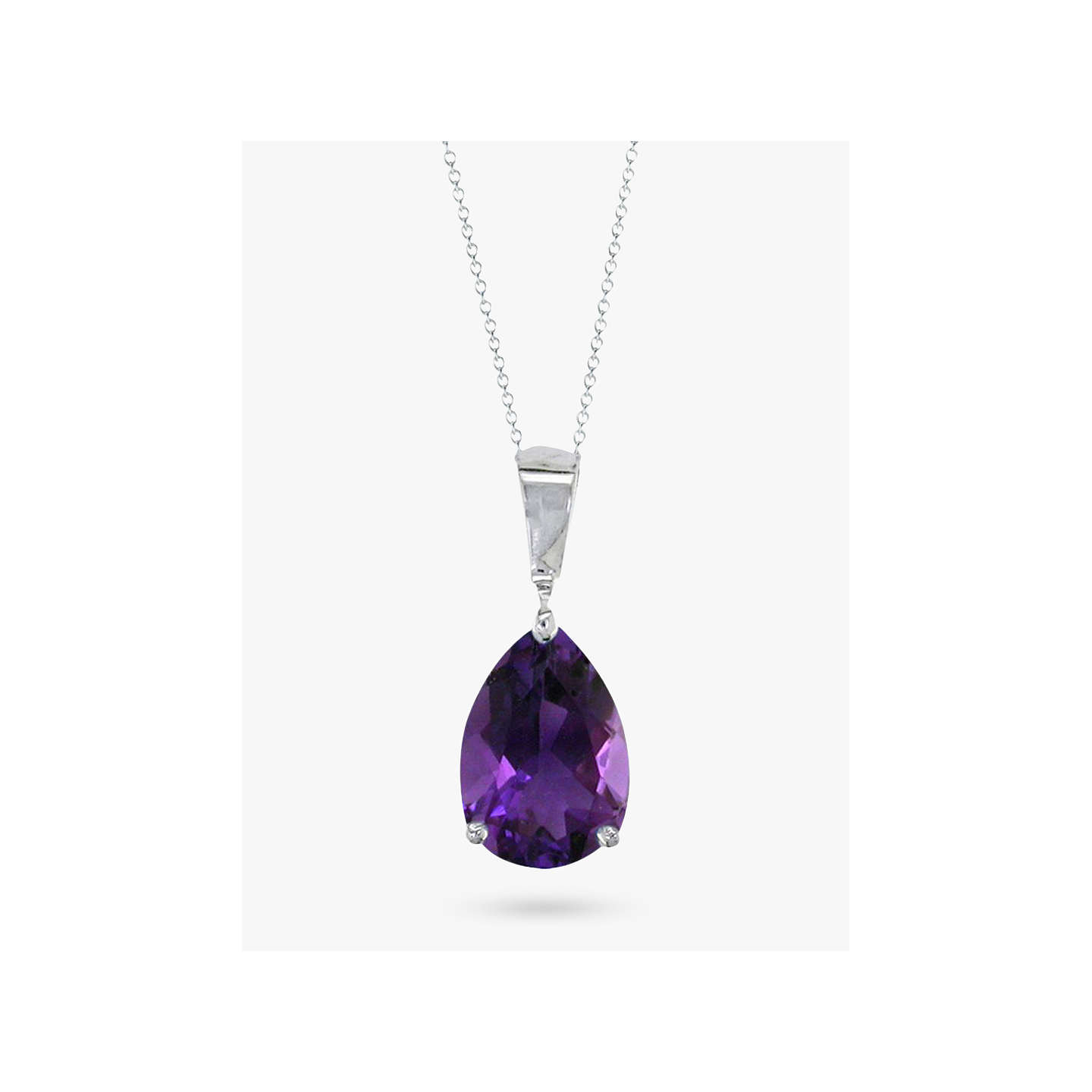 silver vm raw wrapped necklace amethyst jewellery vamoon