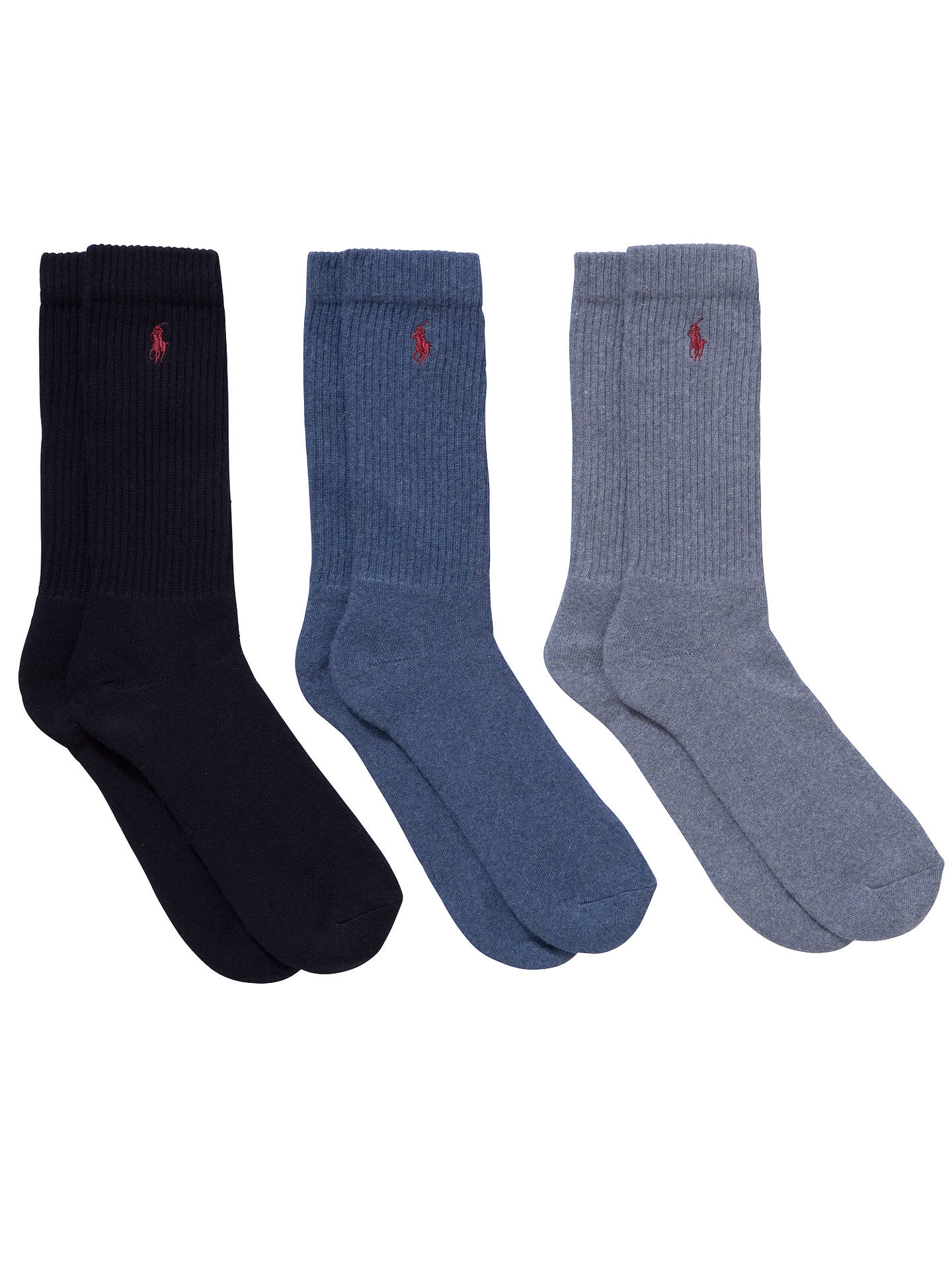 8f97f3982a7 Buy Polo Ralph Lauren Classic Crew Socks