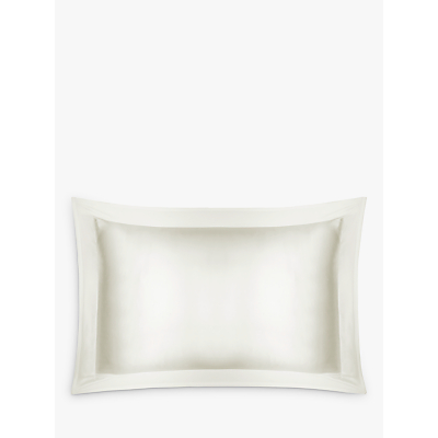 John Lewis Silk Oxford Pillowcase, Ivory