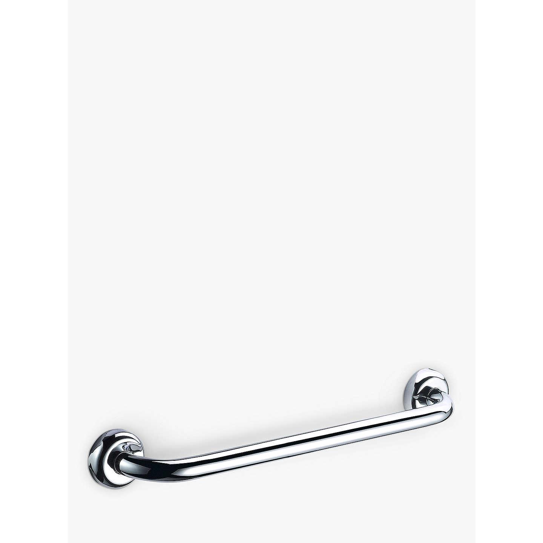 BuyJohn Lewis Chrome Bathroom Grab Rail, L52cm Online At Johnlewis.com