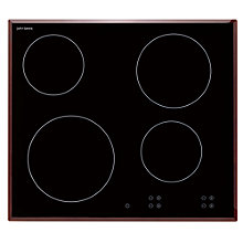 Buy John Lewis JLBICH605 Ceramic Hob, Black Online at johnlewis.com