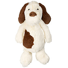Buy Jellycat Bashful Mutt Soft Toy, Medium, Brown/White Online at johnlewis.com