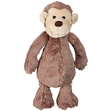Buy Jellycat Bashful Monkey Soft Toy, Medium Online at johnlewis.com