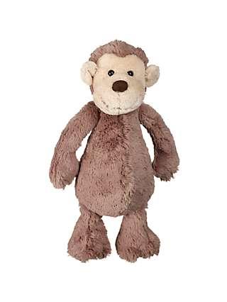 Jellycat Bashful Monkey Soft Toy, Medium