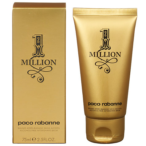 Buy Paco Rabanne 1 Million Aftershave Balm, 75ml Online at johnlewis.com