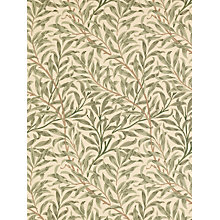 Buy Morris & Co Willow Boughs, Green, DGWIWB101 Online at johnlewis.com