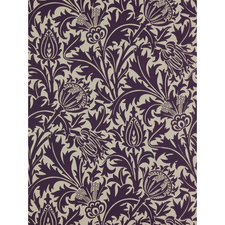 Washable Rugs John Lewis: Morris & Co. Thistle Wallpaper At John Lewis