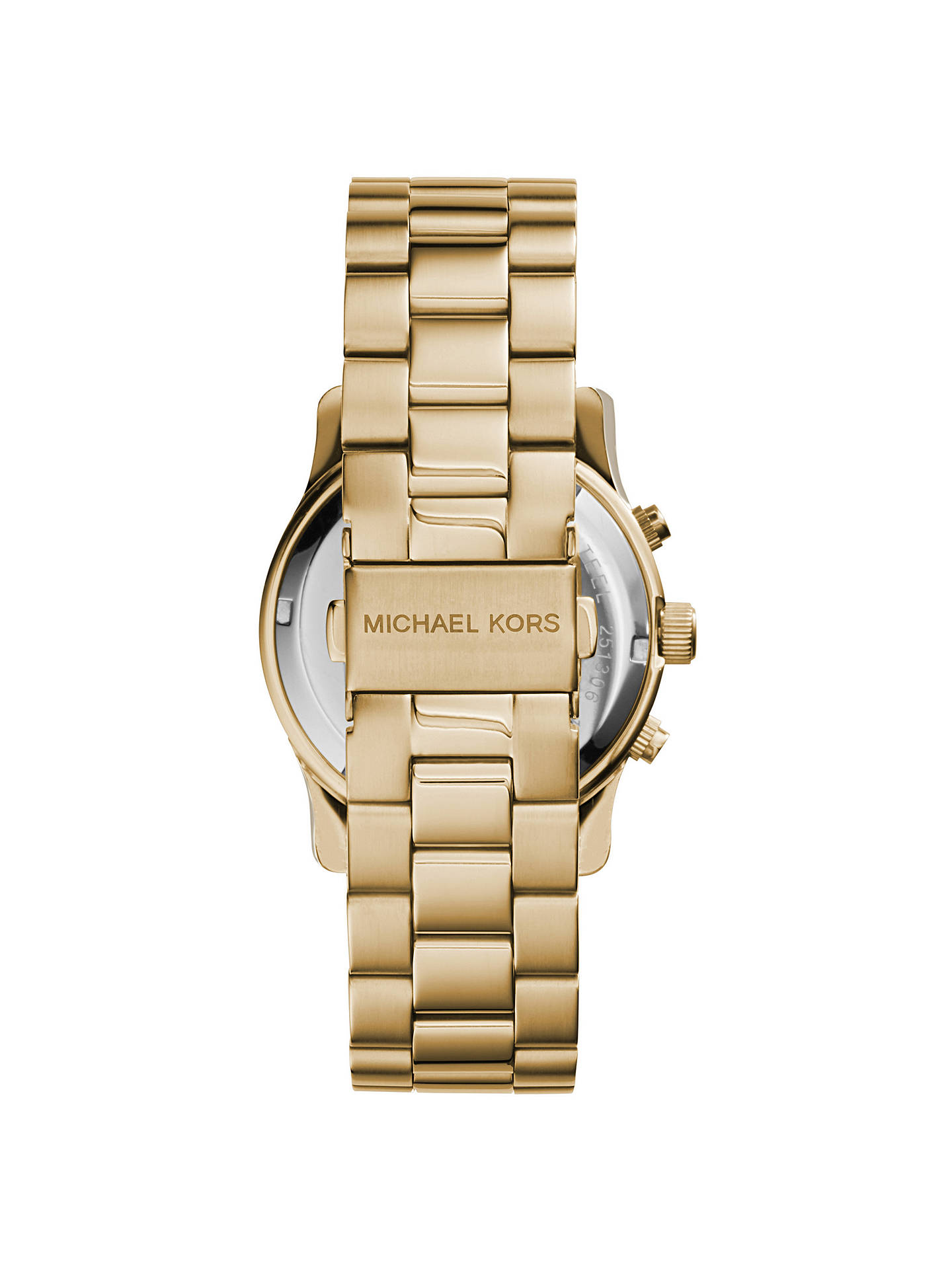 804db6d89b9f Michael Kors MK5055 Women s Runway Chronograph Bracelet Strap Watch ...