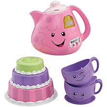 Buy Fisher-Price Say Please Tea Set Online at johnlewis.com