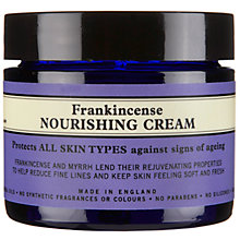 Buy Neal's Yard Remedies Frankincense Nourishing Cream, 50g Online at johnlewis.com
