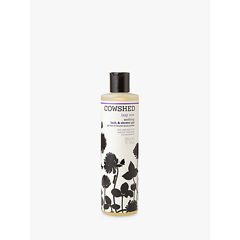 Buy Cowshed Lazy Cow Soothing Bath & Shower Gel, 300ml Online at johnlewis.com