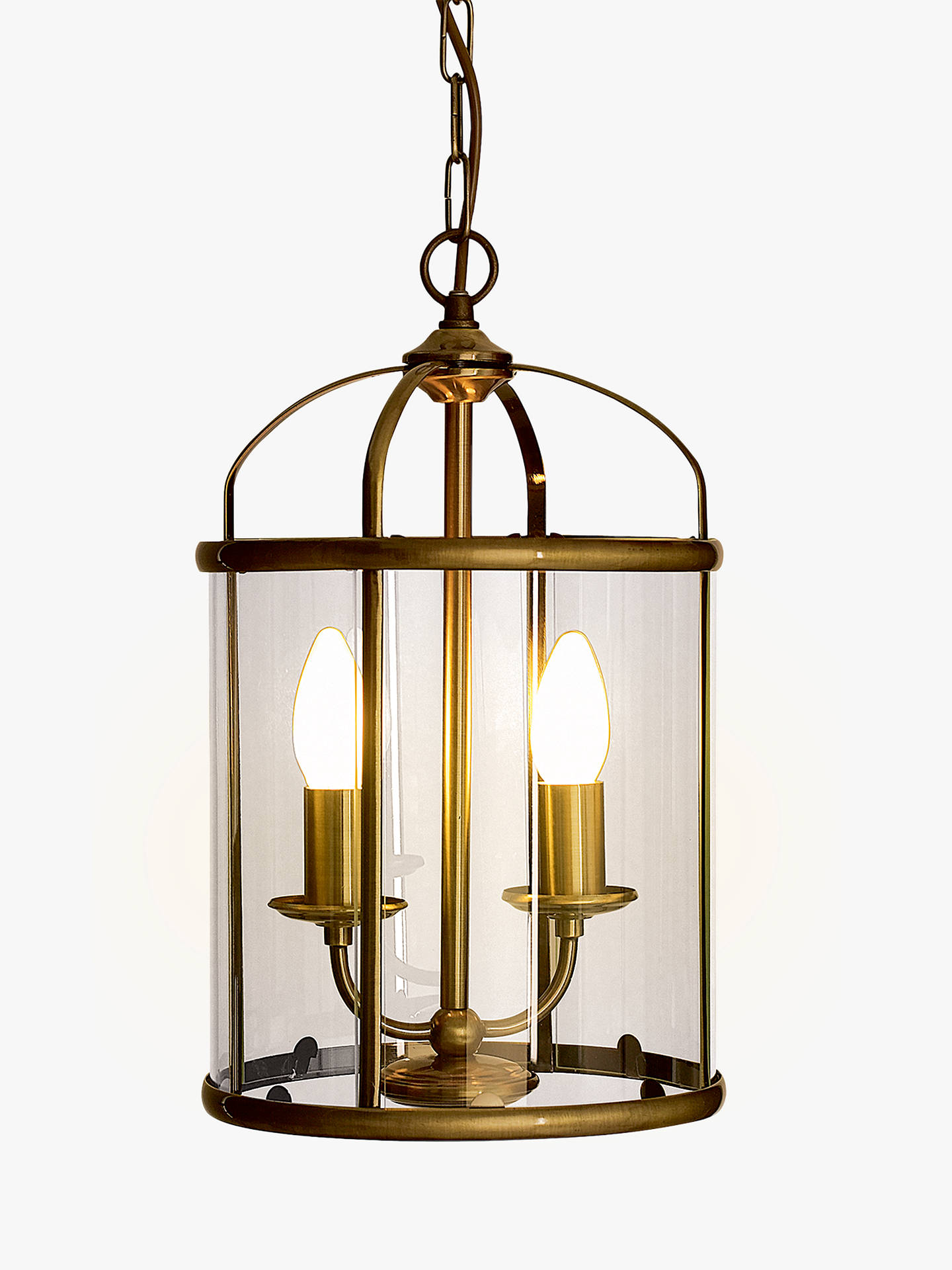 Buy john lewis partners walker lantern ceiling light online at johnlewis