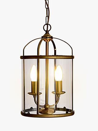 John Lewis & Partners Walker Lantern Ceiling Light