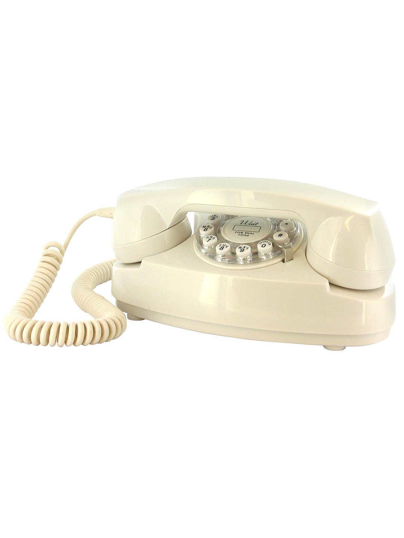 Classic Princess Corded Telephone (Cream)