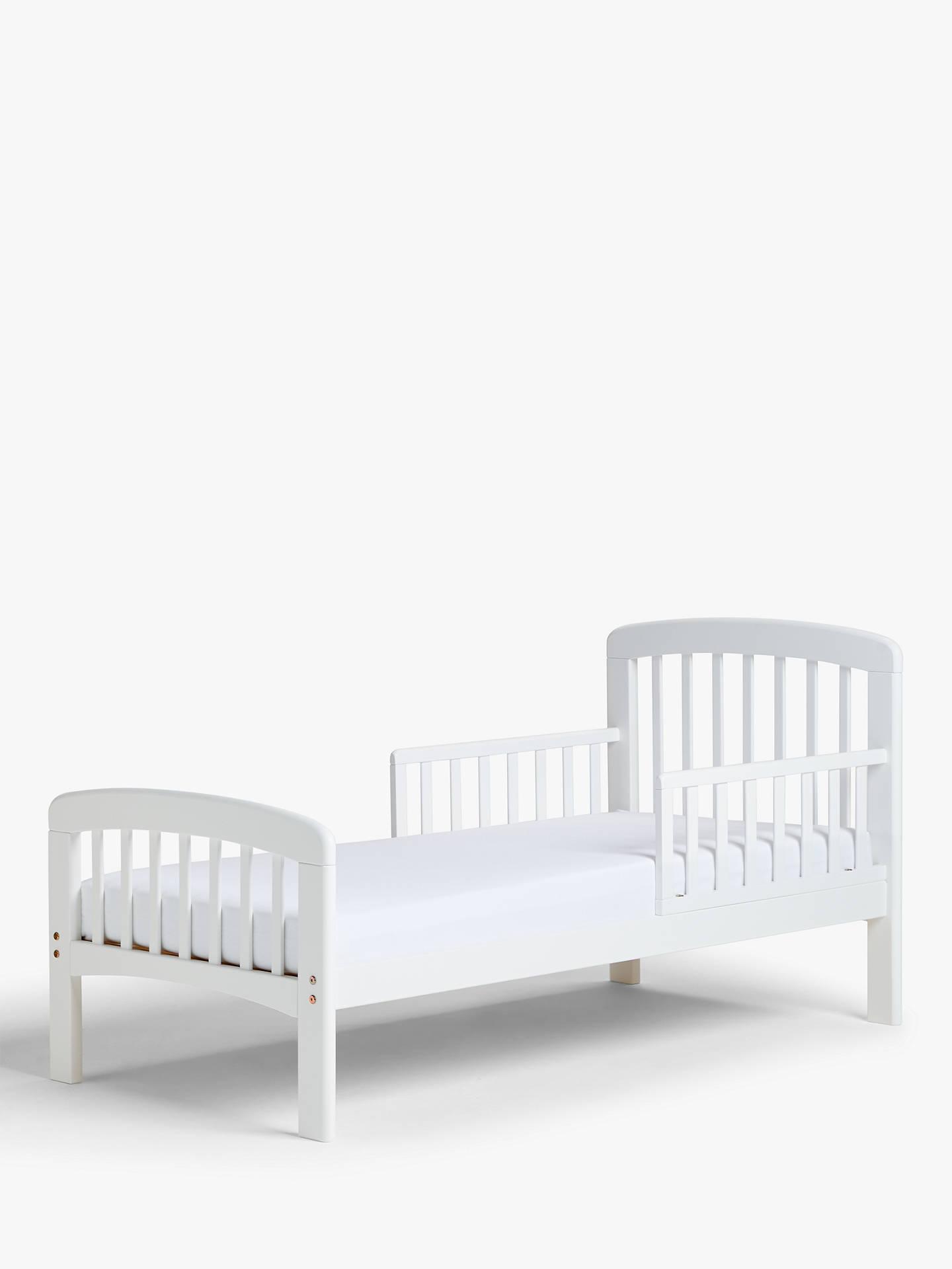 John Lewis & Partners Anna Junior and Toddler Bed, White at John ...
