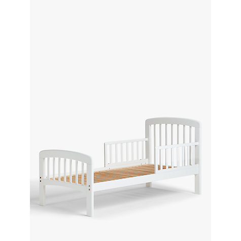 Buy John Lewis Anna Junior and Toddler Bed, White | John Lewis