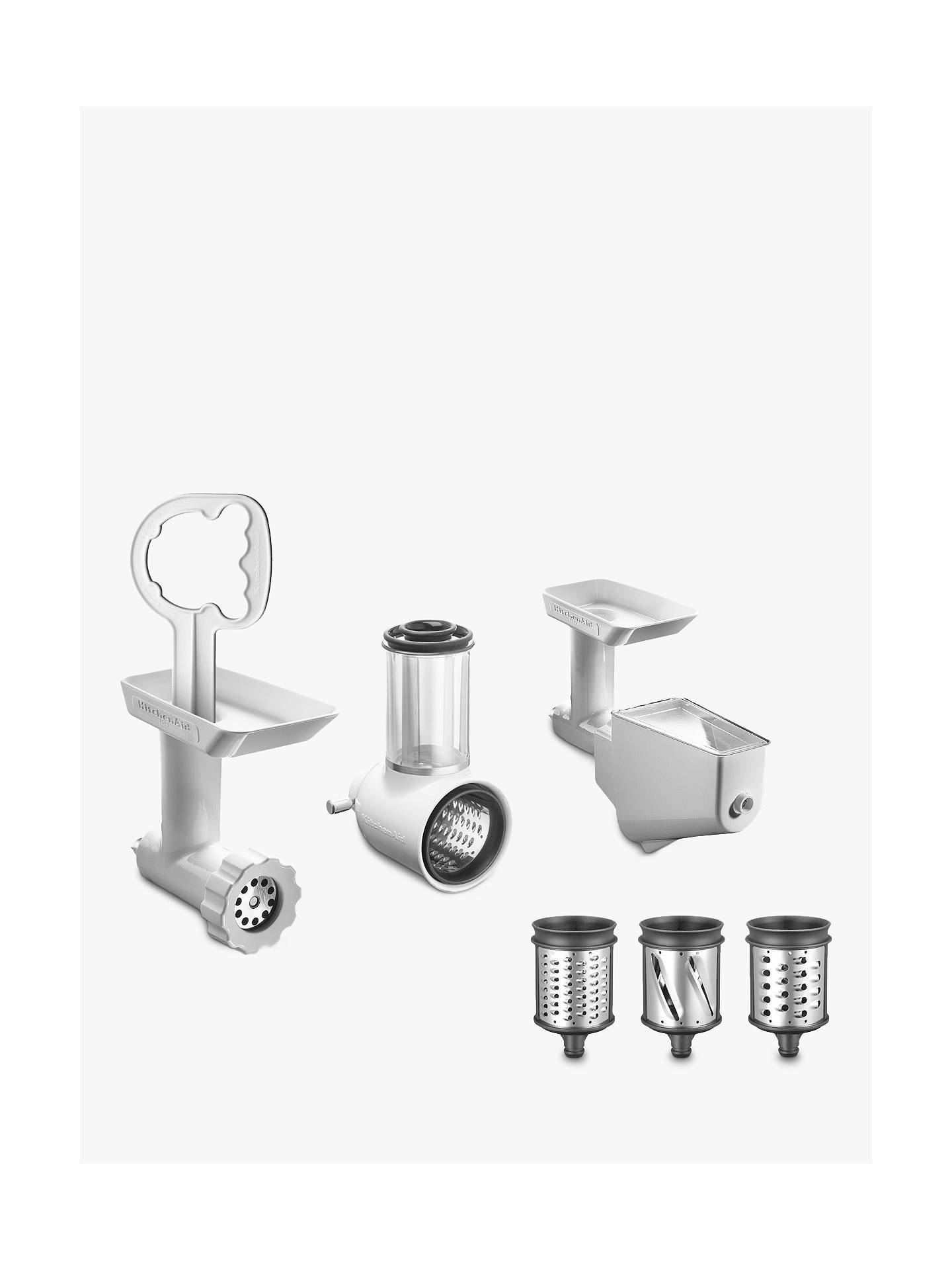 Kitchenaid Fppc Mixer Attachment Pack At John Lewis Partners