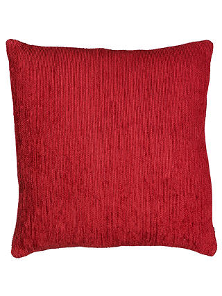Buy John Lewis Congo Cushion, Red, Red, One size Online at johnlewis.com