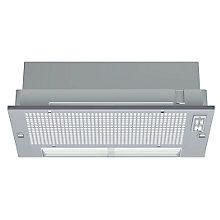 Buy Neff D5625X0GB Built-in Canopy Cooker Hood, Silver Online at johnlewis.com