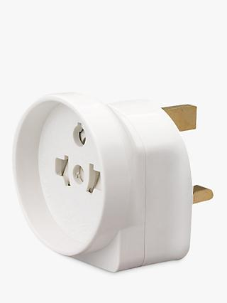 John Lewis & Partners UK Visitor Travel Adapter