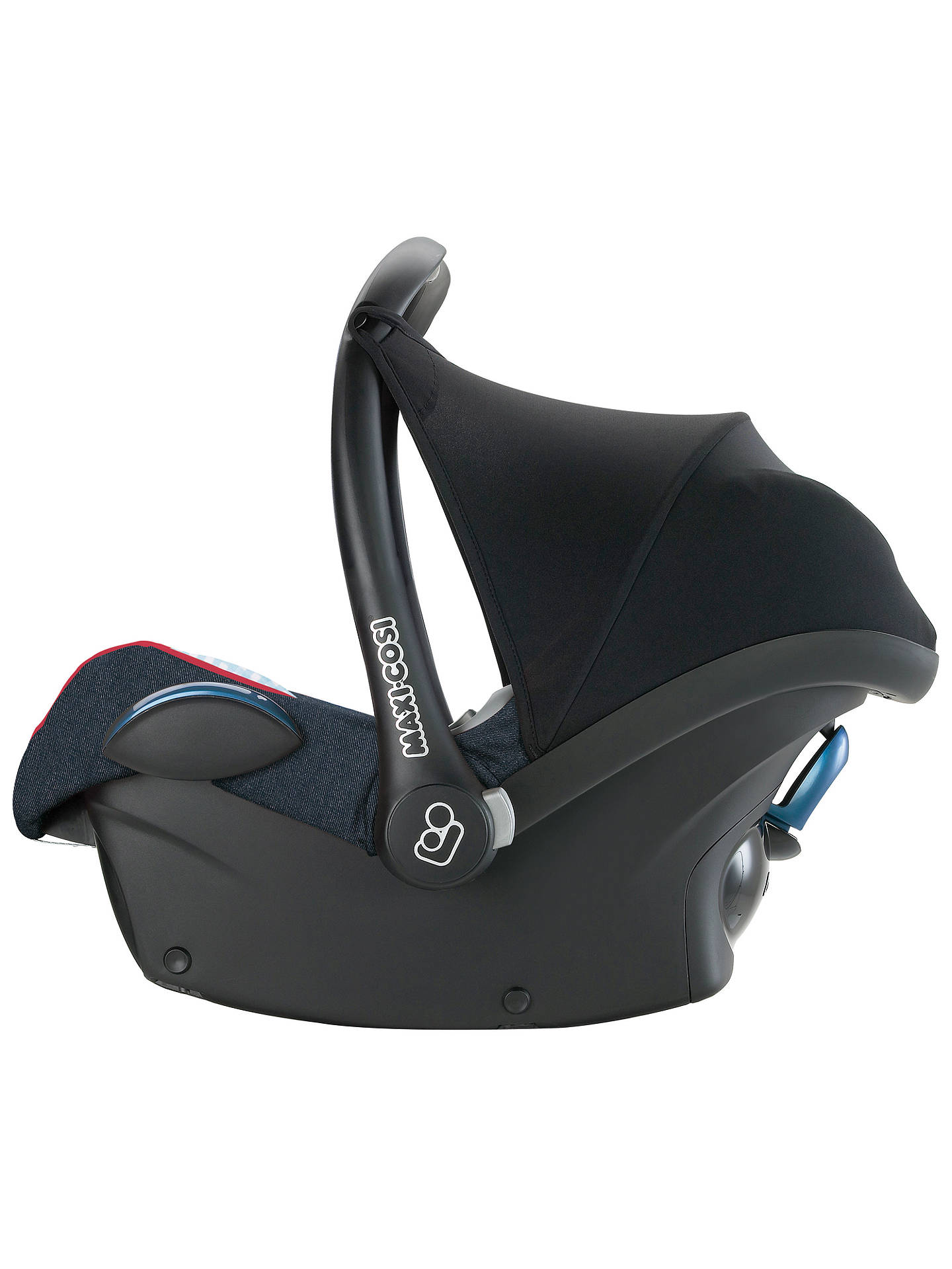 BuyMaxi-Cosi CabrioFix Infant Carrier, Black Reflection Online at johnlewis.com