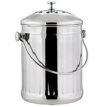 Buy Eddingtons Stainless Steel Compost Caddy Online at johnlewis.com