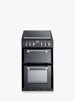 Stoves Richmond 550E Electric Mini Range Cooker, Black